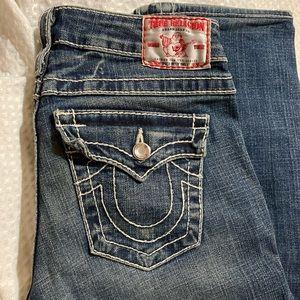 "True religion jeans ""disco big billy T"" style"